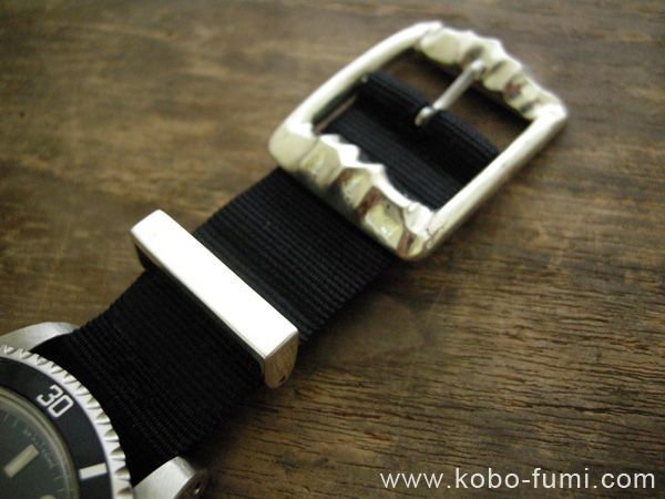 オーダーメイドウォッチベルト取替金具(シルバー925製)