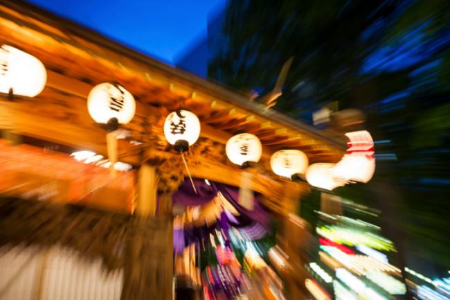 祭りの風景写真